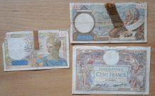Billet de banque France années 30