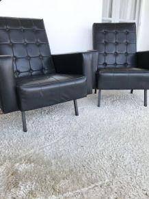 Paire de fauteuils 70s