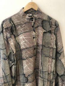 Chemises vintage à motifs oversized