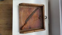 Planche à découper antique origine française début 20ème