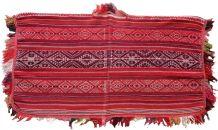 Tapis ancien Péruvien poncho fait main, 1P63