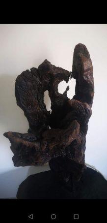 Sculpture bois flotte