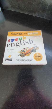 Disques pour apprendre l'anglais