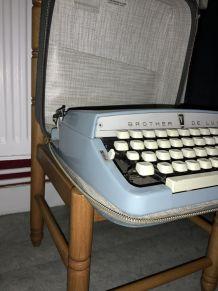 machine à écrire brother deluxe