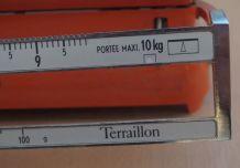 Balance mecanique orange vintage Terraillon