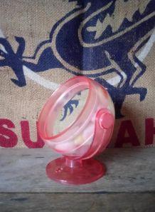 Miroir boule en plastique - Années 70