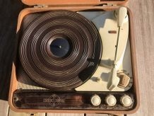 Tourne disques Ducretet Thomson à restaurer