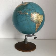 Grand globe vintage 1978 terrestre Taride - 37 cm
