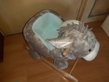 Animal à Bascule, Jouets bébé amusant, Jouet pour bébé doux.