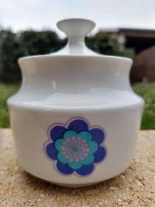 Sucrier vintage porcelaine Chauvigny