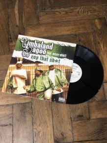 "Vinyle timbaland feat Missy Elliott 33 tours ""COP THAT SHIT"""