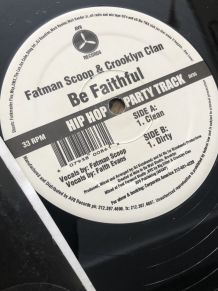 "Vinyle Fatman scoop Crooklyn clan ""be faithful"""