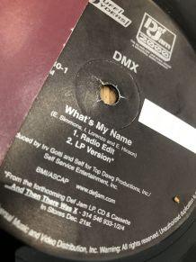 Vinyle 33 tours  DMX « what's my name »