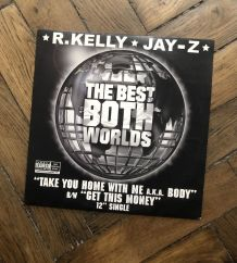Vinyle 33  R.Kelly& Jay-z  «take you home with me »