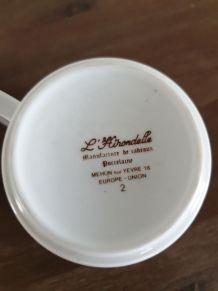 Duo mugs porcelaine