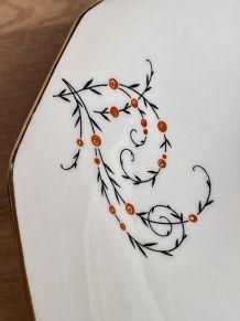 Compotier en porcelaine de Limoges