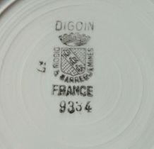 vase de nuit ancien en céramique de Digoin Sarreguemines 933