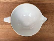 Saucière en demi-porcelaine L'Amandinoise