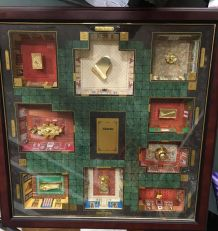 CLUEDO CLUE MYSTERY GAME DELUXE COLLECTOR'S EDITION DE 1996
