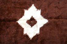 Tapis vintage Persan Angora fait main, 1P74