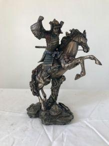 Statuette Résine Samouraï