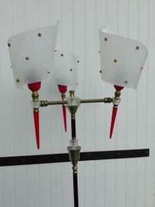 Lampadaire vintage flambeaux