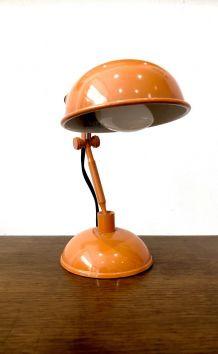 Lampe  de bureau vintage orange