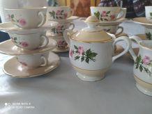Service à thé porcelaine
