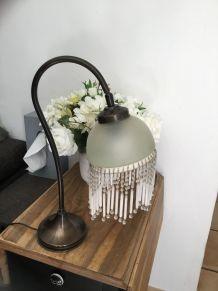 Elegante lampe vintage art déco