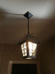 Lanterne en métal /verre