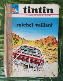 BD ALBUM JOURNAL DE TINTIN N°86 MICHEL VAILLANT DARGAUD 1970