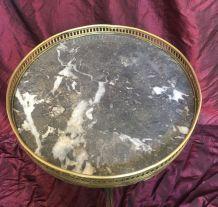 Guéridon bouillotte de style Louis XVI