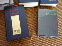 lot de 5 livres les guides bleus corse italie usa sardaigne