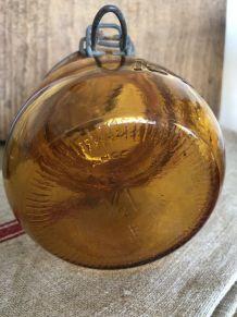 """Bocal ambré """"La Facile"""" - 1/2 litre"""