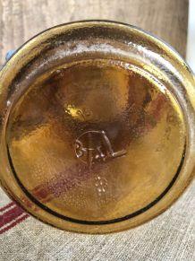"""Bocal ambré """"La Facile"""" - 3/4 litre"""