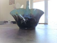 Vase décoratif de Tours avec ANSE année 50
