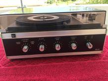 Combiné platine vinyle et ampli Dual
