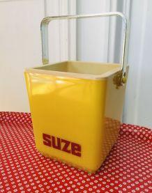 Seau glaçons vintage SUZE années 70