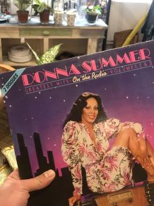"Vinyle 33 Donna Summer  greatest hits ""on the radio"""