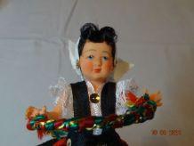 Petite poupée de collection du pays basque ancienne année 60
