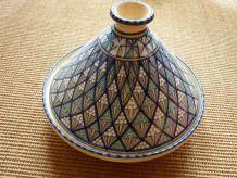 plat à tajine Tunisien tampon sous le plat comme neuf
