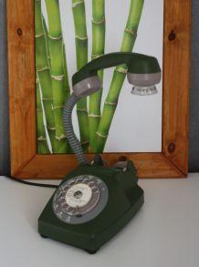 LAMPE À POSER RECYCLAGE TÉLÉPHONE VINTAGE'75