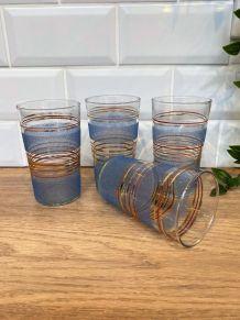 4 verres à eau