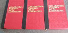 Lot de 3 livres sur les Grandes Enigmes de la Libération