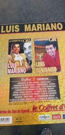 Le Coffret d'Or Luis Mariano 2 VHS