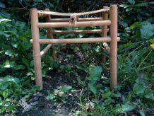 Vend 8 tabourets en bambou