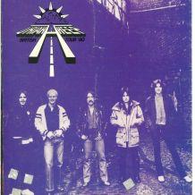 Uriah Heep British tour'80 official postergram