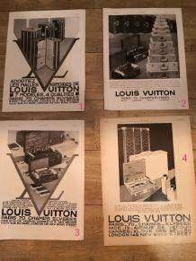Affiches publicitaires vuitton de 1900 à 1940