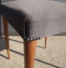 Paire de chaises italienne années 50
