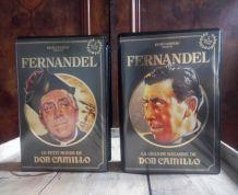 Coffrets VHS Fernandel (Don camillo)